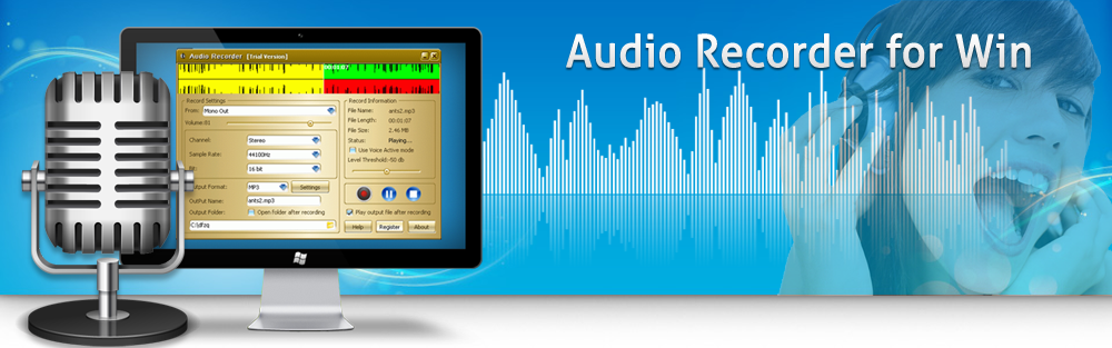 Audio Recorder for Win banner